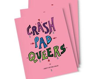 Crash Pad Queers • Illustration Zine
