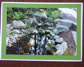Small Pond in the Woods Card