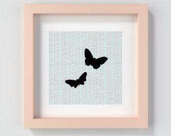 Butterfly Nursery Print Instant Download, Butterfly Kids Art, Butterfly Wall Art, Printable Butterfly, Butterflies Art, Butterfly Decor