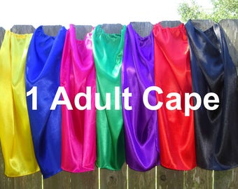 Large Superhero Cape For Ages 9 through Adult