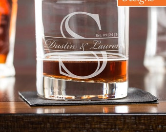 Whiskey Glass, Fathers Day Gift, Scotch Glass, Dad Gift, Personalized Whiskey Glass, Retirement Gift, Engraved Whiskey Glass, Gift For Him