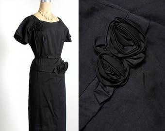 Rosette LBD Black Dress