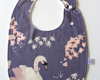 Reversible Swan Super Bib