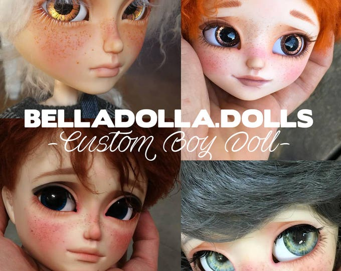 Custom order service Taeyang or Isul - included doll