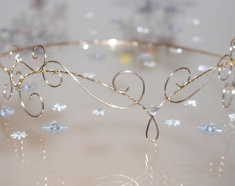 Gold Wire Elfin Circlet