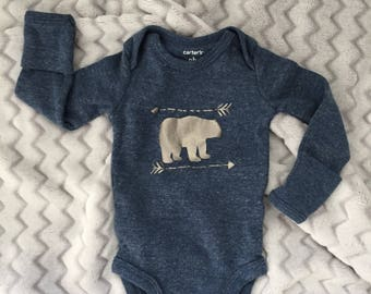 Bear Bodysuit for Baby
