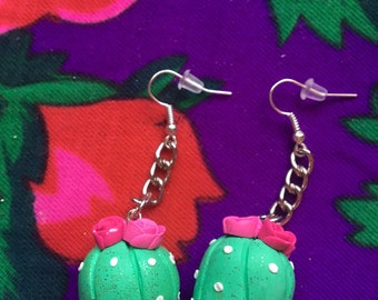 Mini Nopalito Earrings