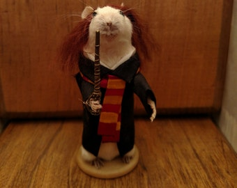 Hermione wizard taxidermy mouse