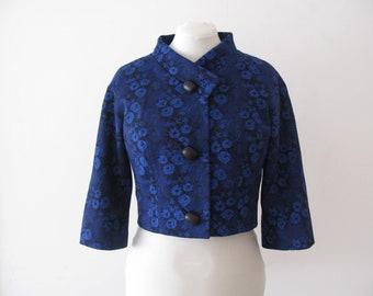 Jacket - cropped jacket - woman jacket - bolero - Jacket 70s - vintage jacket