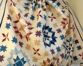 Plain or Fancy Queen Quilt Kit