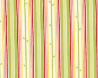 Moda Fabric with Stripes Last of the Bolt!!  1 yard and 7 inches