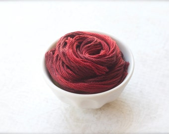 MANOR RED Classic Colorworks hand-dyed embroidery floss cross stitch thread at thecottageneedle.com