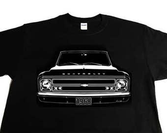 1968 Chevy Truck C10, Pickup, Chevy Truck. Suburban T-Shirt