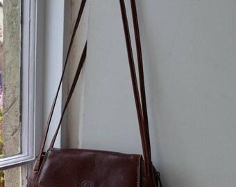 Beautiful brown leather Giudi bag