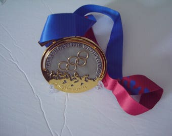 1994 Lillehammer Norway Olympic 'Gold' Medal with Silk Ribbon !!!