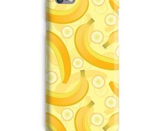 Banaan iPhonegeval, gele iPhonegeval, bananen iPhonegeval 6, Fruit iPhonegeval 6, grappige iphone 6s case, Humor iPhonegeval