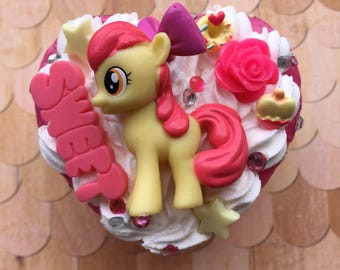 Sweet Apple Bloom My Little Pony Decoden Box