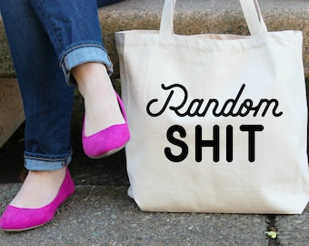 Random Sh## XL Canvas Tote Bag