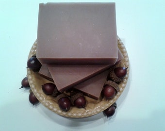 Vanilla Hazelnut Goats Milk Soap- New Fall Scent