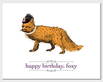 Happy Birthday, Foxy