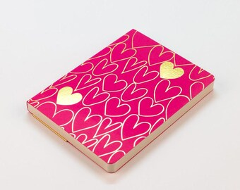 Shimmer Classic - A6 notebook - Magenta