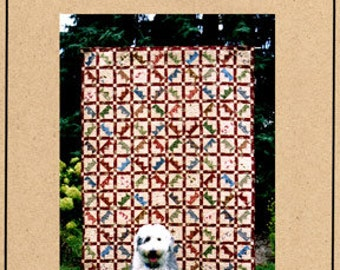 Colonial Crown Quilt Pattern by Open Gate, FREE SHIPPING with /Fabric Purchase