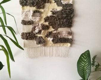 Woven tapestry| Wall hanging| Weaving art| Fibre art| Weaving tapestry | Wall art| Home decor