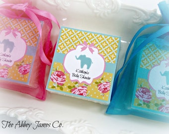 Baby Shower Favors, baby elephant shower favors, elephant favors, baby boy shower favors, baby girl shower favors