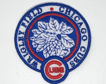 Cubs de Chicago brodé de fer sur Patch