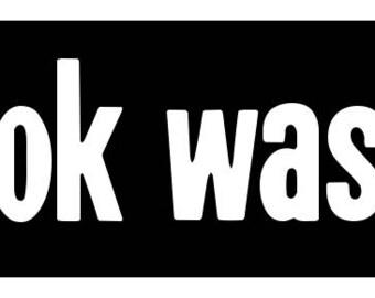 New Black Comedy Sticker the Book Was Better Smartass Geek Nerd Book Lover Funny Joke Gag Gift