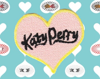 Katy Perry Heart Patch