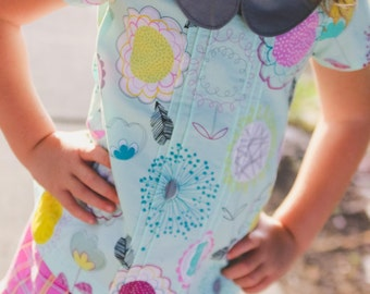 Lauren Pintuck Top and Tunic PDF Pattern instant download size 6mnth-14years