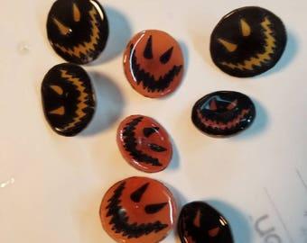 Scary happy pins