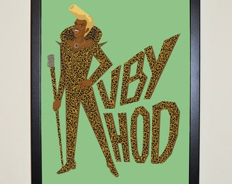 SUPERGREEN.    Fifth Element Poster - A3 or A4