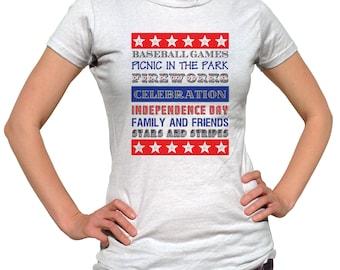 USA Shirt, America Shirt Womens, USA Tshirt, Patriotic Shirt, 4th of July Tee, Fourth of July Shirt