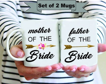 Custom Mother of the Bride Father of the Bride Mug, Mother and Father of the Bride Mug,Mother of the Bride Mug,Father of the Bride Mug