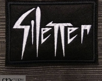Patch Silencer Black Metal Band.