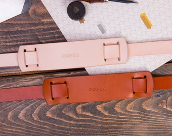 Leather shoulder strap pad, leather shoulder pads for bag straps, personalized leather pad, leather shoulder pad, leather camera strap pad