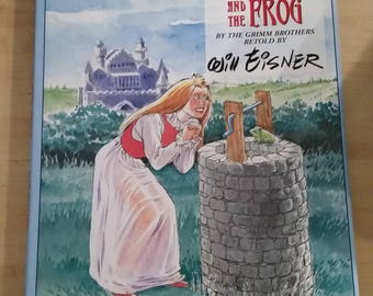 The Princess and the Frog - By the Grimm Brothers - Retold by Will Eisner  NM