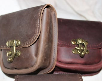 Adventurer's Leather Belt Pouch