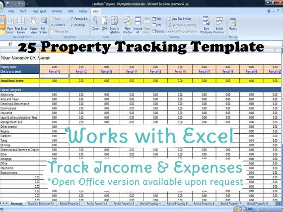 expenses and income template