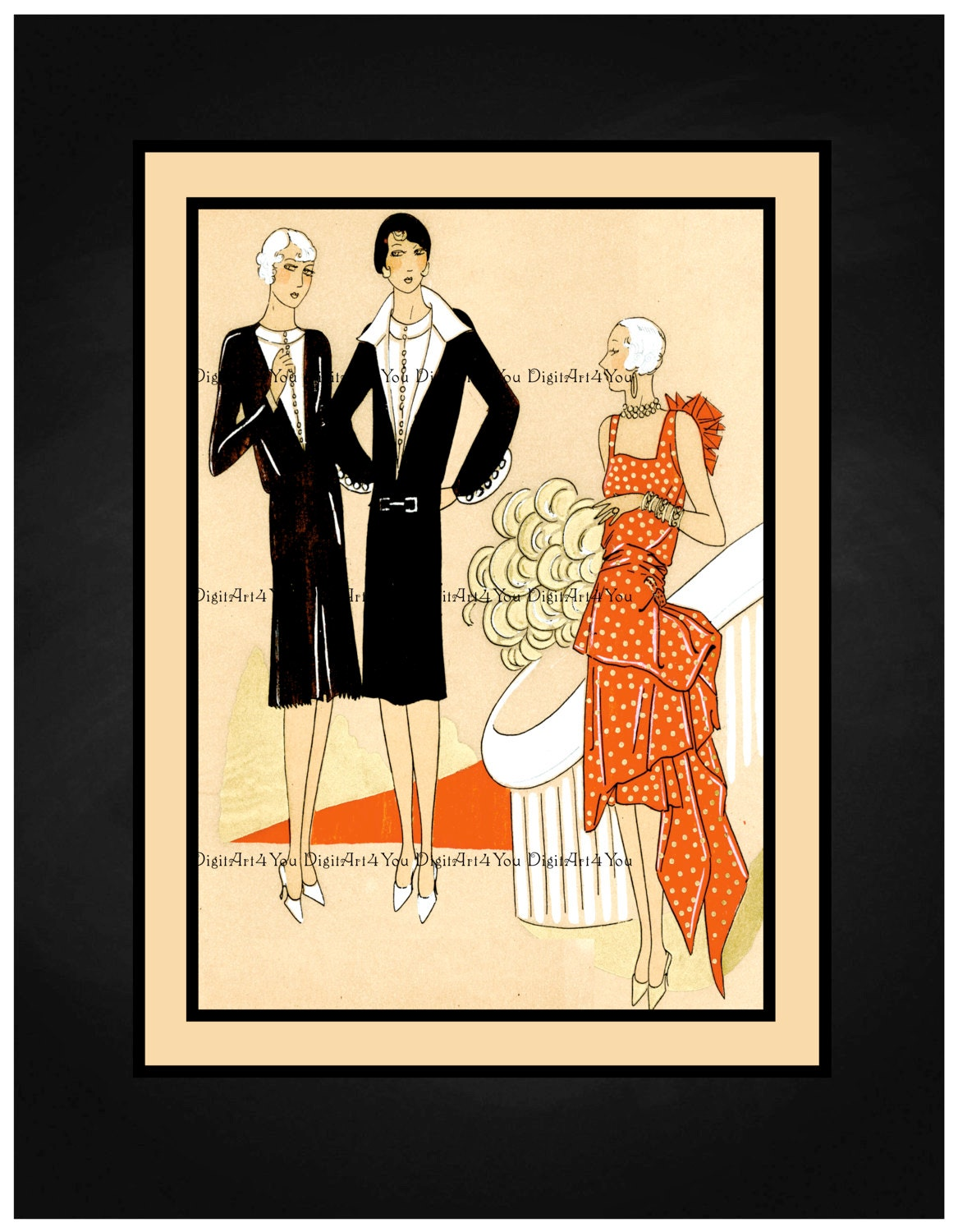 Magnificent Couture Wall Art Illustration - Art & Wall Decor ...