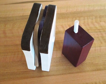 Pretend Stackable Peanut Butter and Jelly Sandwich