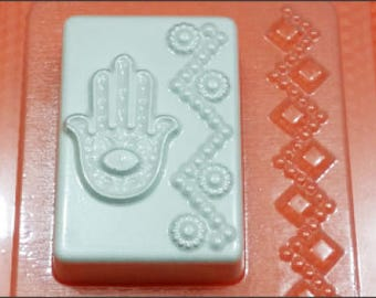 Hamsa mold, hamsa hand mold, plastic mold, hand of fatima mold, amulet mold, talisman mold, indian mold, egypt mold,food mold,chocolate mold