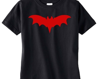 Franken Bat Black Toddler Tee