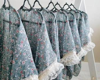 Girls kimono, kimono, summer overall, little girls kimono cape