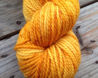 Beech Tree Gold on Freya BFL Aran Wt