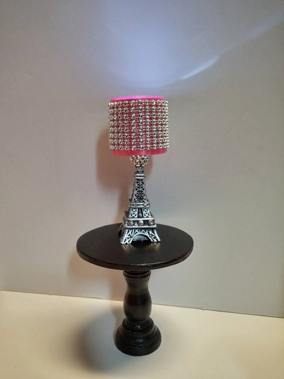 Doll Lamp LED Fashion Doll Lamp Paris Eiffel Tower Lamp
