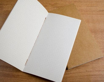 Dotted paper insert for Traveler's Notebook - REGULAR SIZE