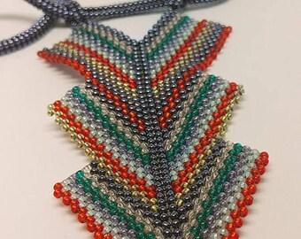 Geometric Necklace Unique Gift For Christmas ON A Unique Promotion.